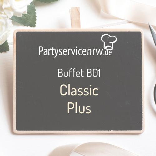 Buffet B01 Classic Plus - Klassisches Buffet zum Spitzenpreis