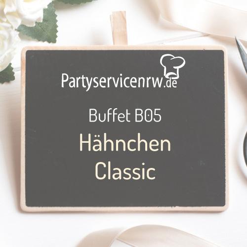 Buffet B05 Hähnchen Classic - Buffet mit knusprigem Hähnchen und leckeren Beilagen
