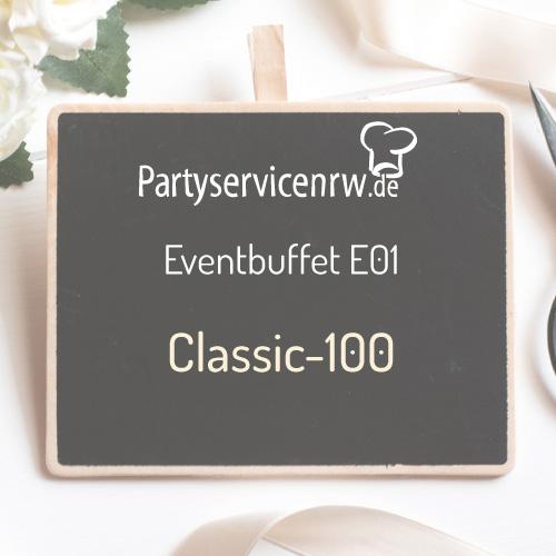Eventbuffet E01 Classic-100 - Eventbuffet für Feiern ab 100 Personen