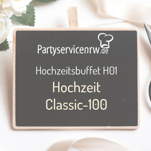 Hochzeitsbuffet H01 Classic-100 - Hochzeitsbuffet für Hochzeiten ab 100 Personen