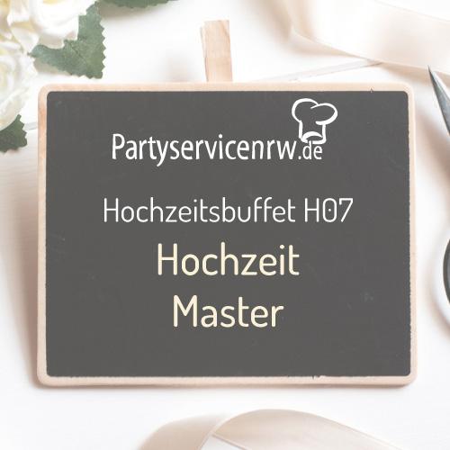 Hochzeitsbuffet H07 Master - Das All-in-One-Buffet für große Hochzeiten zum Spitzenpreis