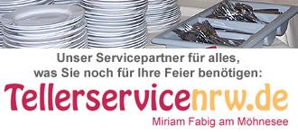 Tellerservice NRW - Servicepartner des Partyservice NRW